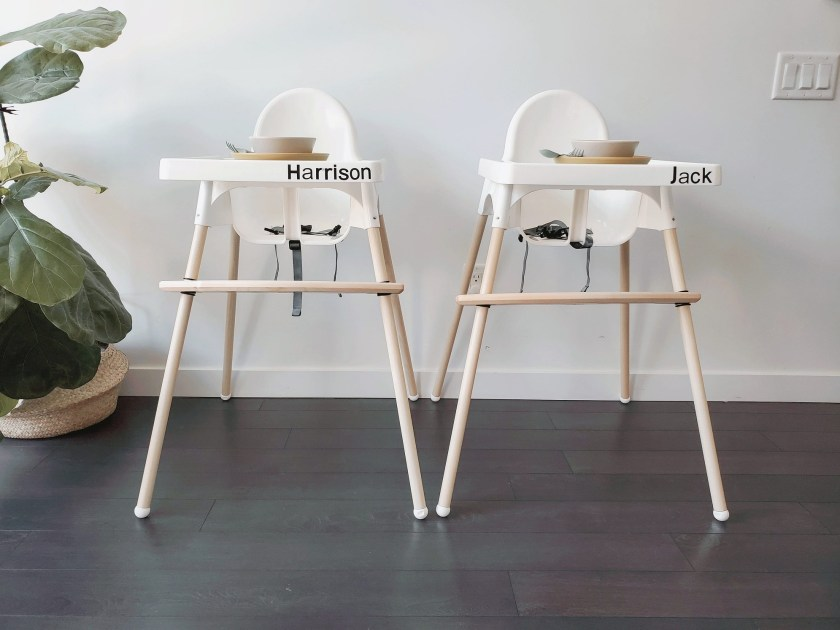 Antilop highchair hack Ikea