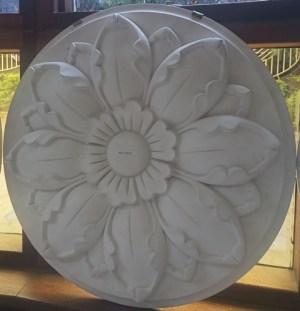 Ceiling medallion polyurethane 0022
