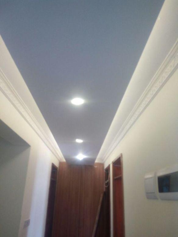 gypsum ceiling corridor 2