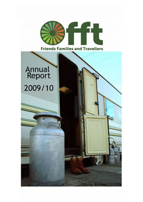 thumbnail of cover for 'Annual Report 2009/10' FFT