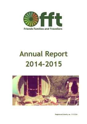 thumbnail of cover for 'Annual Report 2014-2015' FFT