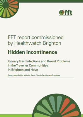 thumbnail of report cover for 'Hidden Incontinence' FFT report commissioned by Healthwatch Brighton