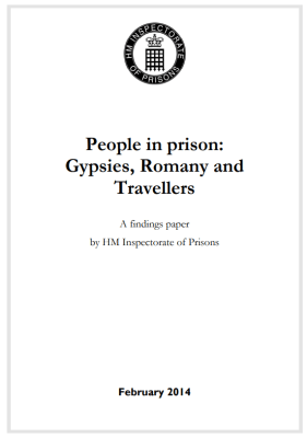 Thumbnail of report for 'People in prison: Gypsies, Romany and Travellers'