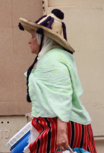 A Berber woman in Morocco