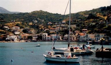 Port of Evdilos on Ikaria