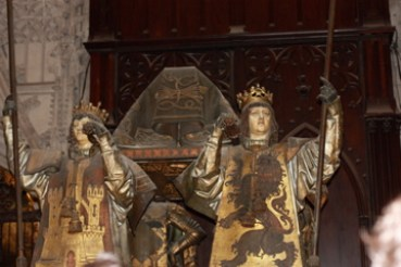 Columbus's coffin