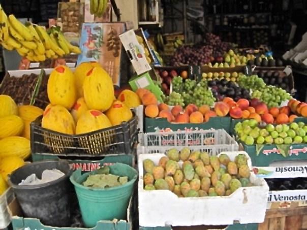 a Moroccan market