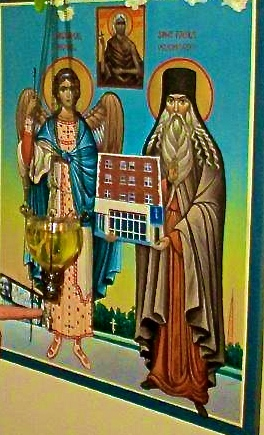the patron saints holding the church of St. Mary of Egypt