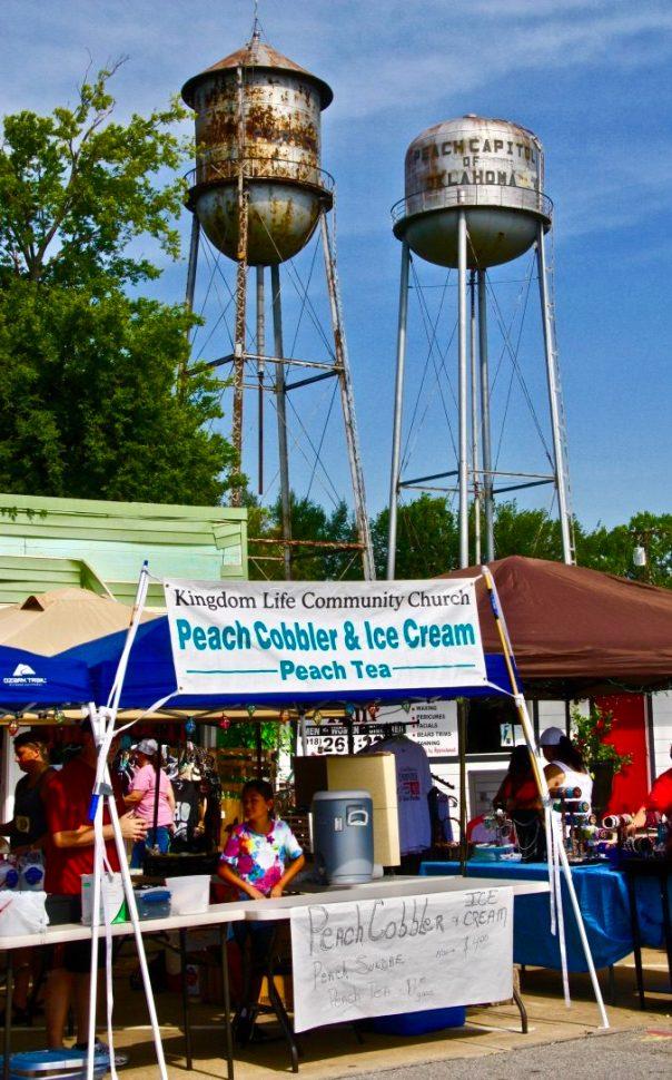 Porter Peach Festival in Porter, Oklahoma