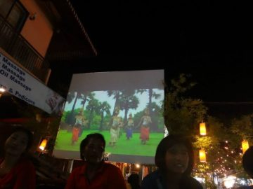 Outdoor video Siem Reap