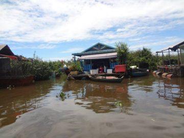 Siem Reap floating village