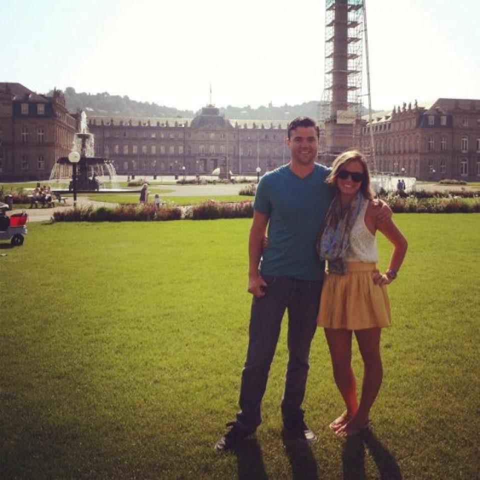 Grant and Rachel in Stuttgart Germany