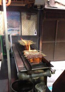 """Yakitori lunch in Omoide Yokocho """"Piss alley"""""""