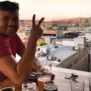 Grant at Norte Brewing Tijuana