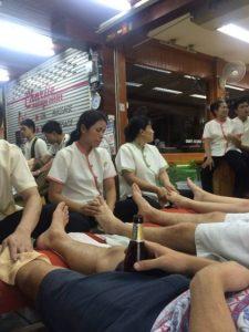 A massage in Bangkok