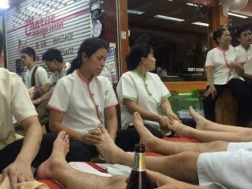 A massage in Bangkok