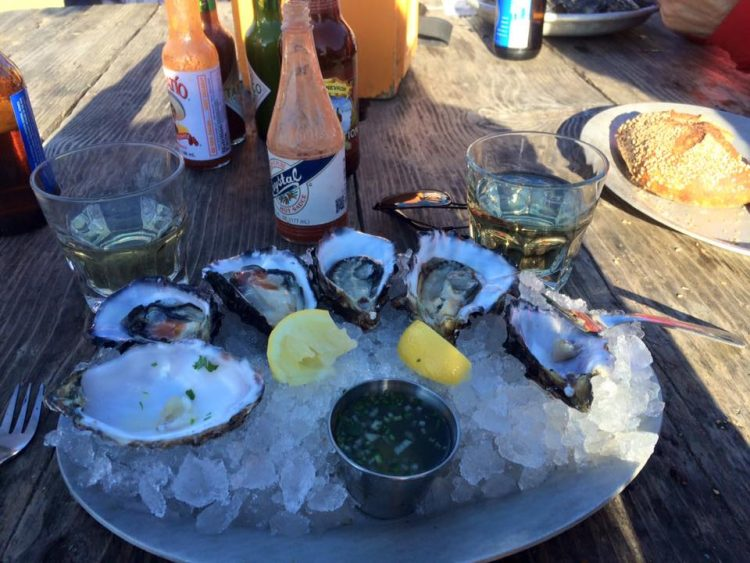 California Oysters in San Francisco