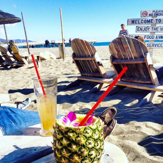Happy Hour in Malibu California