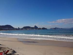 Brazilian beaches in Rio Ipanema and Copacabana