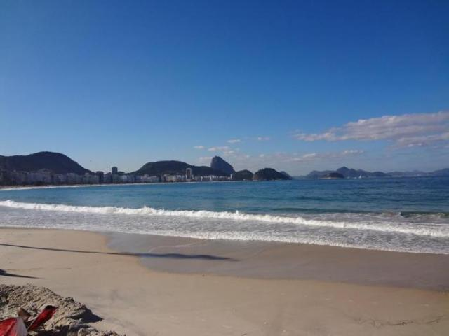 Brazilian beaches in Rio Ipanema and Copacabana