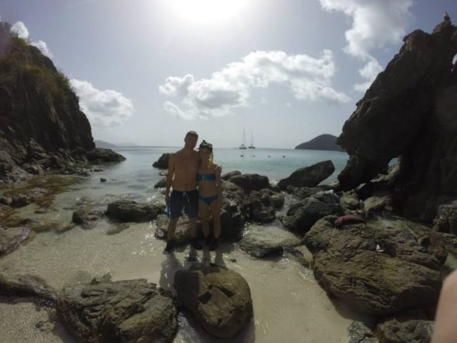 Sailing the Virgin Islands