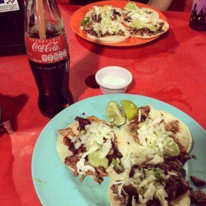 Tacos at Antojitos La Chiapaneca Tulum