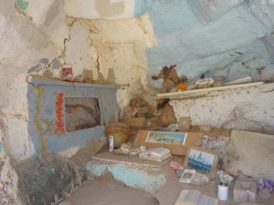Inside Salvation Mountain