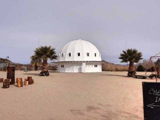 The Integratron in Joshua Tree