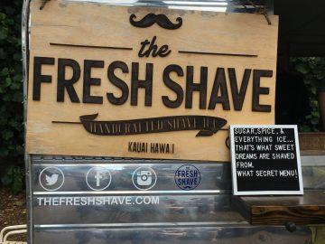 The Fresh Shave in Kalaheo