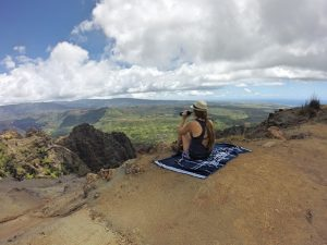 Rachel at Waimea Canyon on Kauai