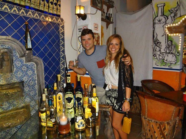 Grant and Rachel on Isla Mujeres
