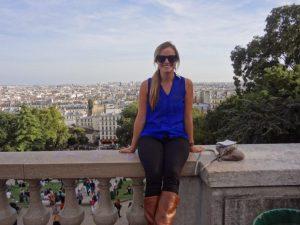 Rachel at the Sacré-Cœur