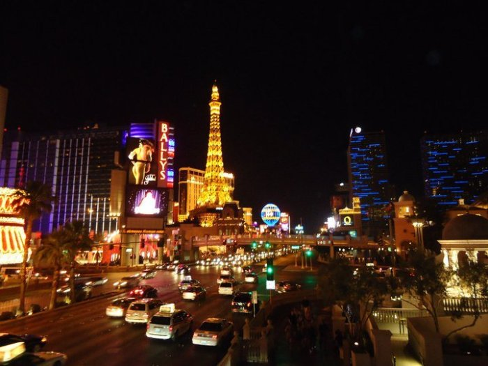 Las Vegas Club scene