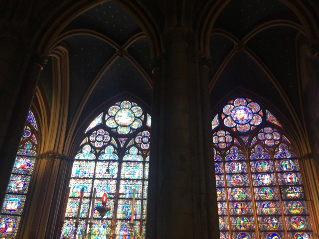 stained glass notredame