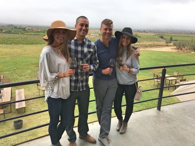 wine tasting valle de guadalupe