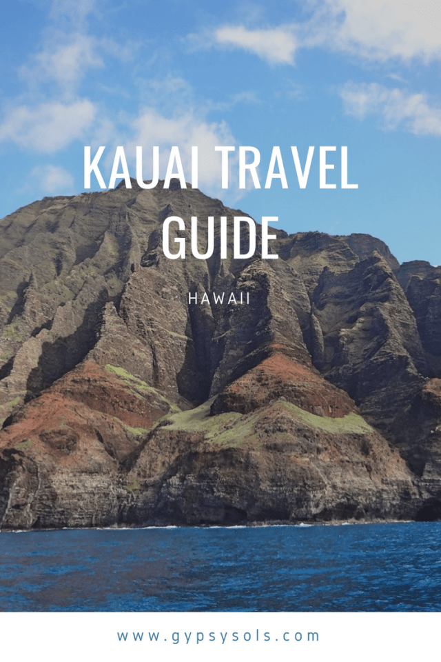 This Kauai neighborhood guide breaks the island down so you can easily plan day trips. Kauai is a magical place so be sure you don't miss anything! #GypsySols #Kauai #Hawaii #Kauaitravel #hawaiitravelGuide