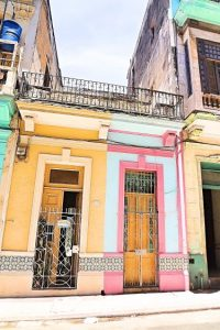 colorful doors in havana