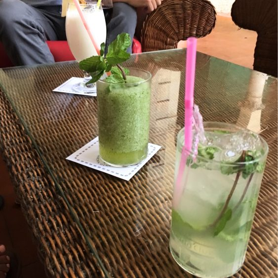 mojitos at hotel nacional