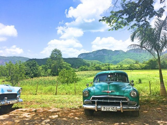 Old Car in Vinales Cuba