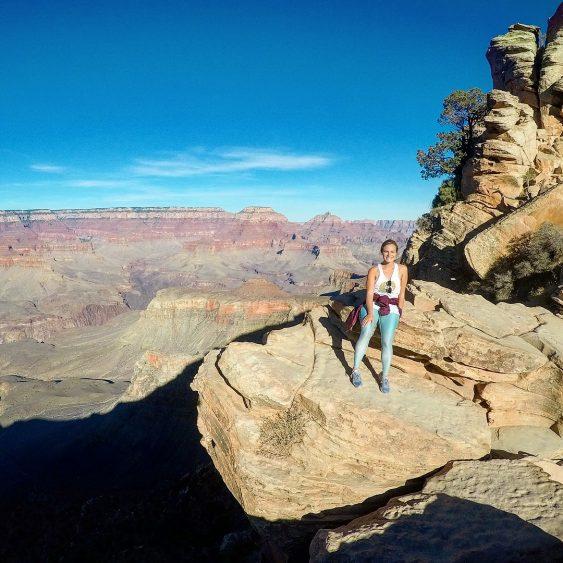 Rachel on South Rim Grand Canyon