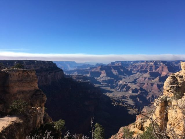 View from South Rim Grand Canyon