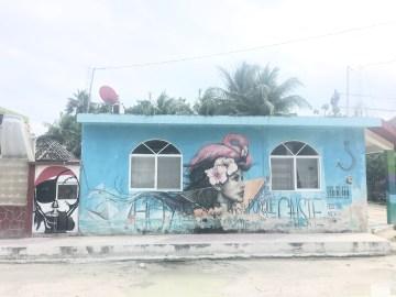 holbox graffiti