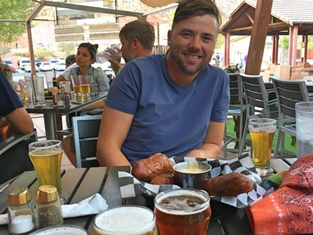 Grant at Zion brewery