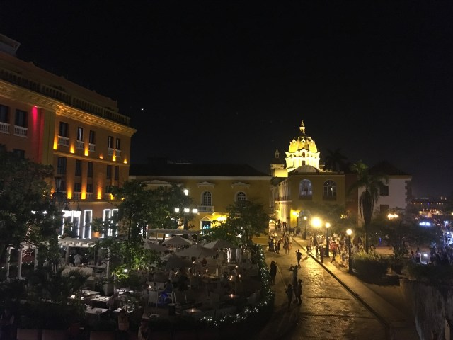 cartagena colombia night