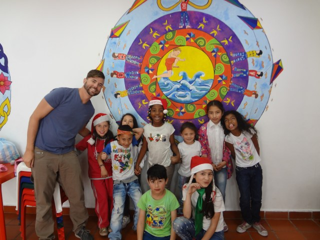 kids in colombia