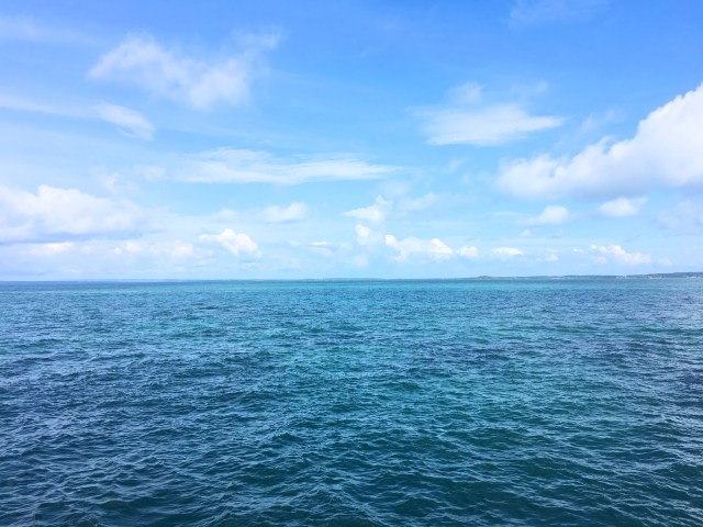 ocean at isla grande