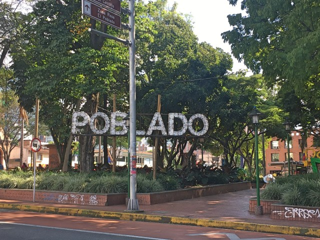 poblado neighborhood medellin