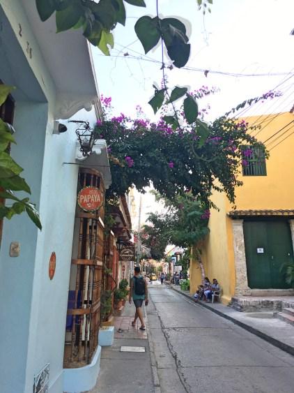 street in getsemani cartagena