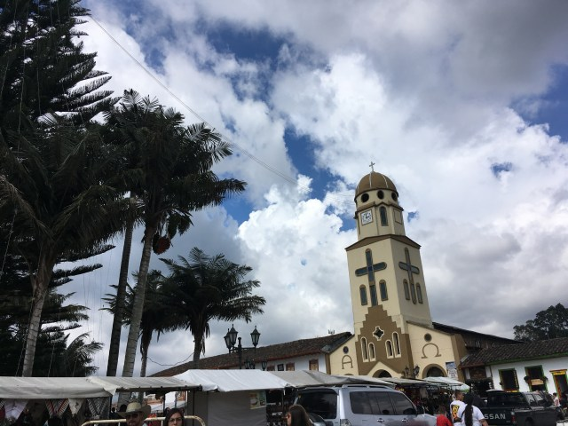 salento colombia plaza