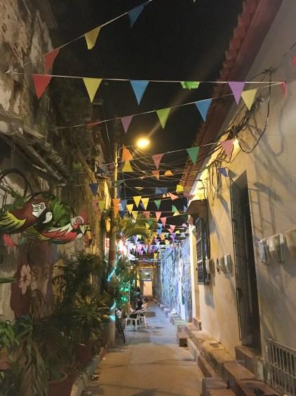 alley in getsemani